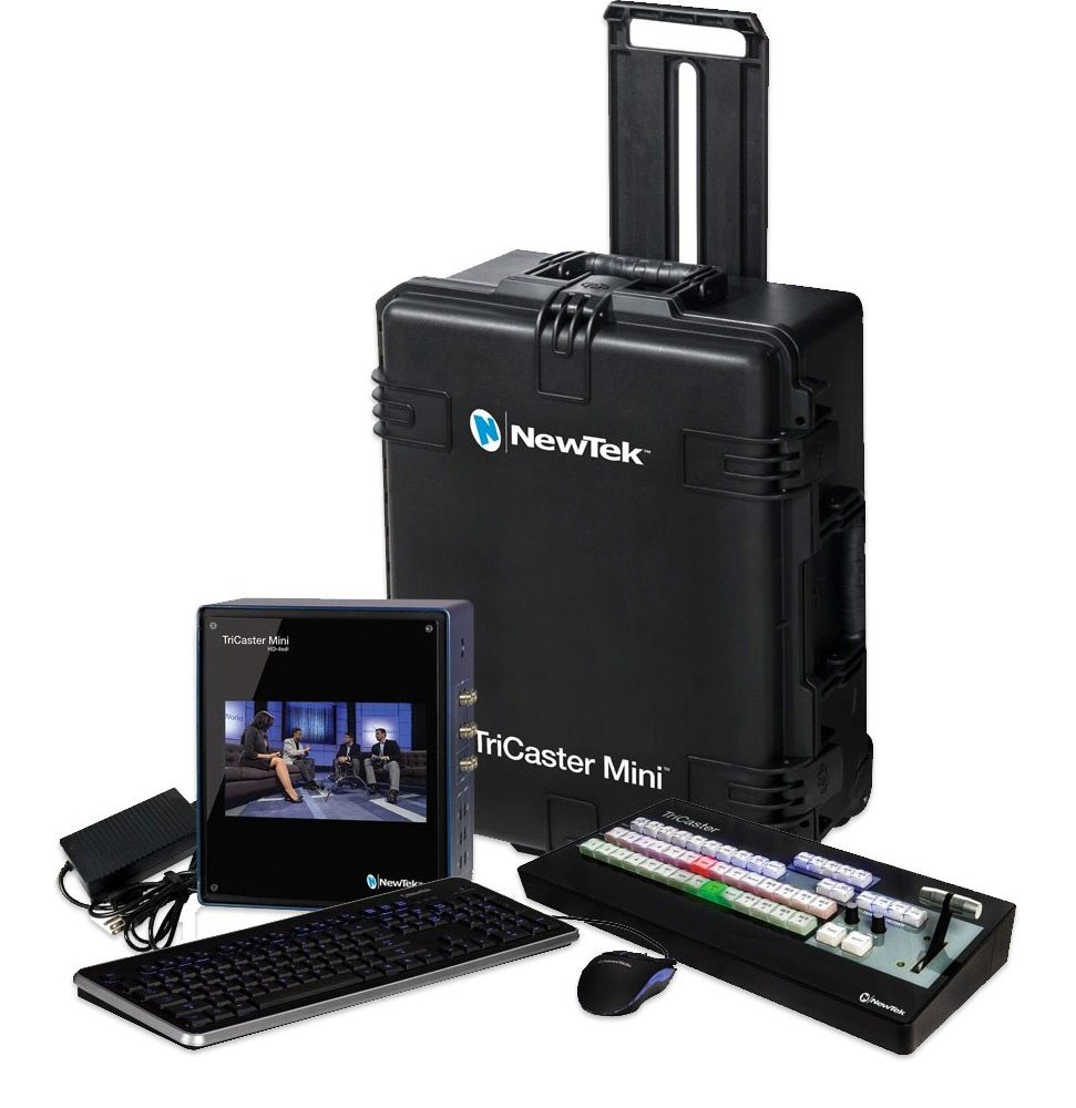 TriCaster Mini HD4i Advanced Bundle NewTek