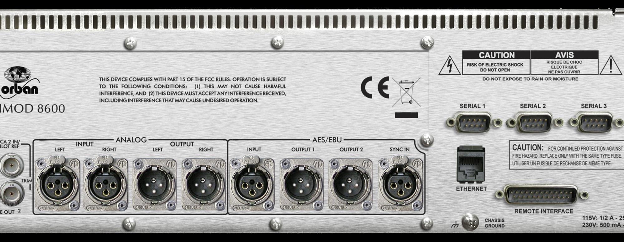 Optimod-FM 8600 HD – orban