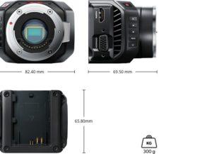 Camera BLACKMAGIC micro cinema camera