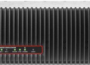 IQ MAIN Surface de contrôle 8 Faders Axia