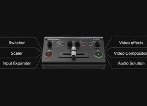 V-02HD Roland Mélangeur vidéo