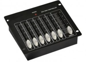 Contrôleur LED DMX 6 circuits