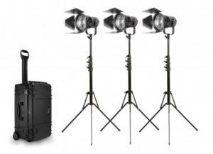K305PP Pro Plus Kit (3-P360 Pro Plus, 3 Lentilles Fresnel De 5 Pouces)