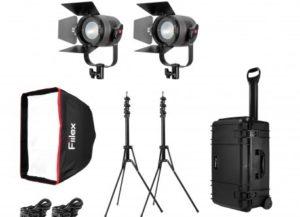 KIT D'ÉCLAIRAGE K201 Pro Plus (2-P360 Pro Plus)