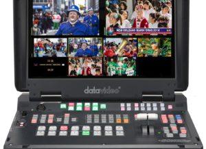 HS-2200 Datavideo Mélangeur Vidéo Mobile HD 6 entrées