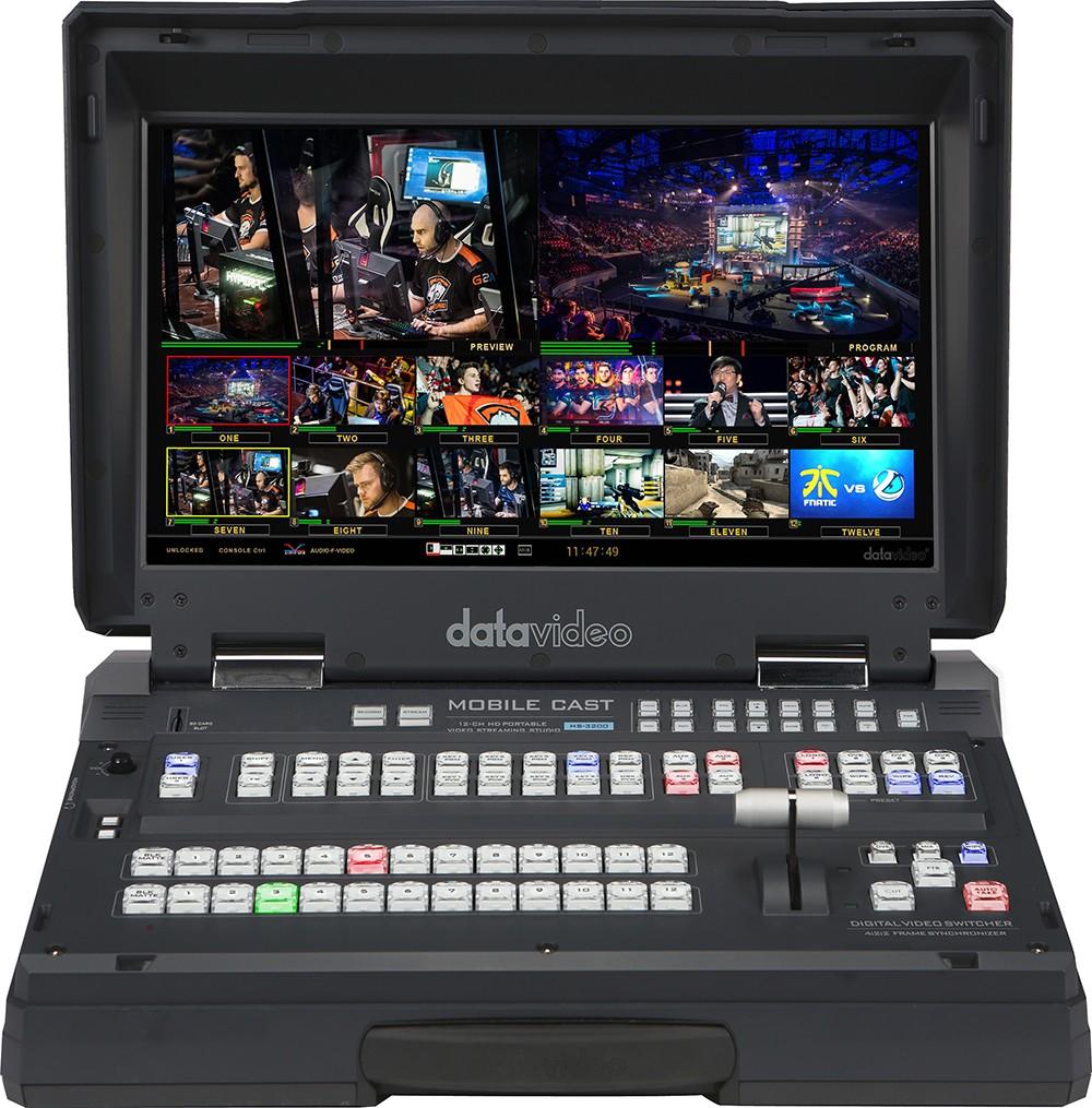 HS-3200 Datavideo 12 canaux HD Streaming et enregistrement