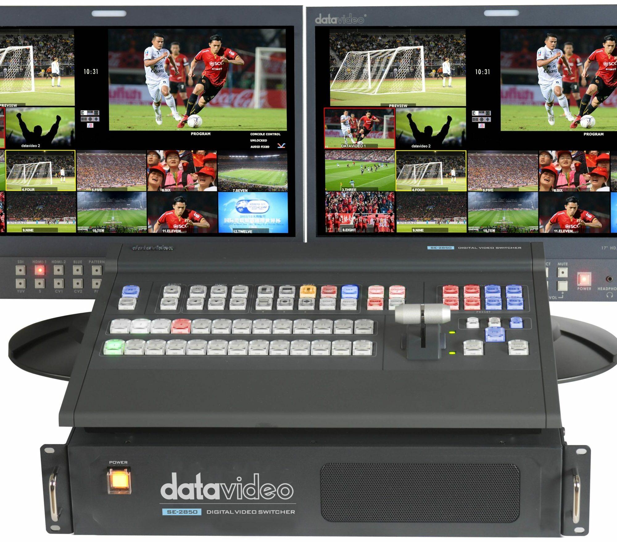 SE-2850-12 Datavideo Sélecteur vidéo numérique HD / SD 12 canaux