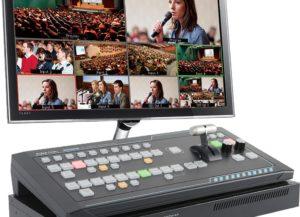 SEB-1200MU Datavideo Commutateur 6 entrées + ensemble contrôleur RMC-260