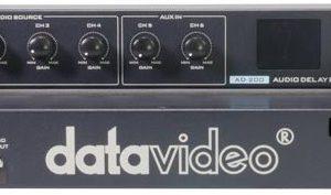 mixage audio à 6 canaux avec réglage du niveau et retard