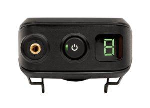 Ensemble micro HF Émetteur ceinture, Récepteur Pocket DSLR, Micro Cravate