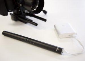 Microphone Directionnel à Condensateur Avec Batterie Interne