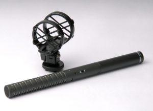 Microphone Canon à Condensateur Alimentation Fantôme