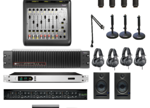 Pack Pro Console Numérique IP 8 Faders Axia