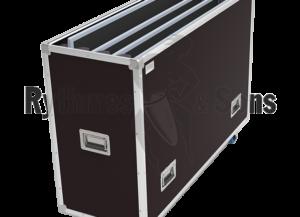 Flifght-case OPENROAD® réglable pour 1 à 4 écrans plats de 46″ à 55″