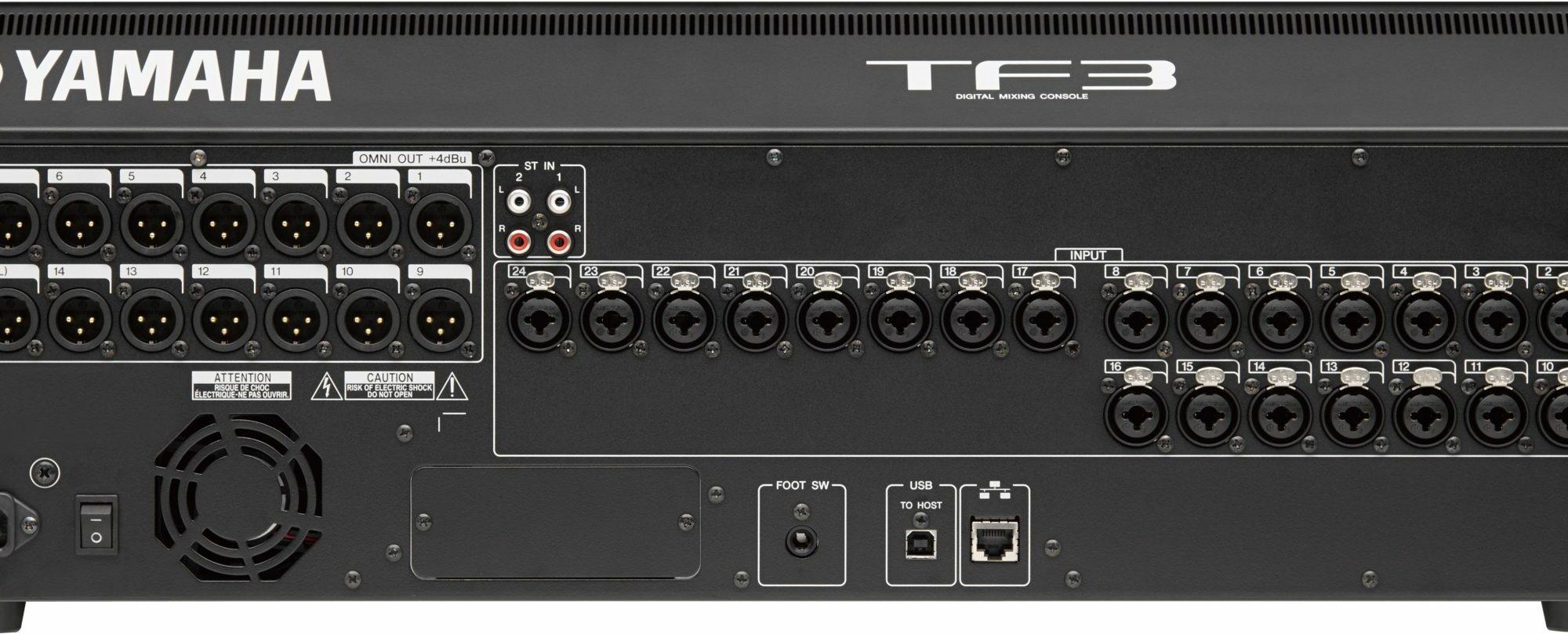 TF3 Yamaha SLT-D Numérique 25 Faders – Preset Diffusion Radio