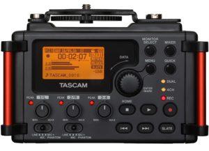 DR-60DMKII Tascam Enregistreur audio portable pour DSLR
