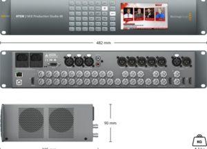 ATEM 2 M/E Production Studio 4K Mélangeur vidéo Blackmagic Design – Location