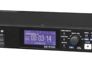 SS-R100 Enregistreur sur Carte SD/USB Tascam