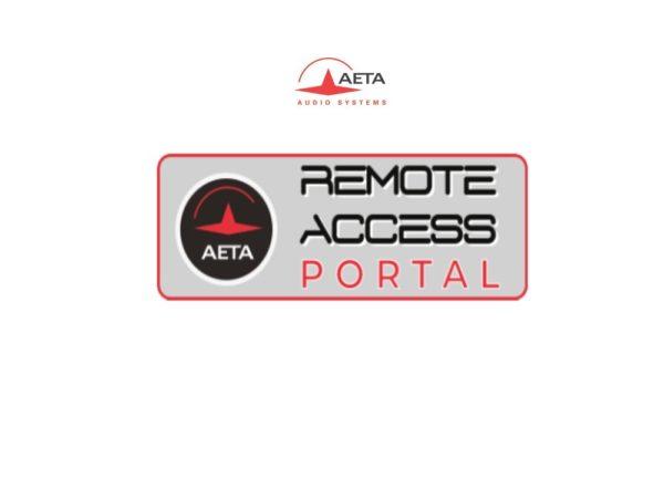 Remote Access Portal AETA – Gestion de flotte de Codecs
