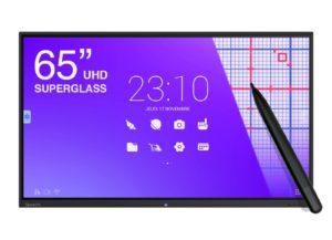 SpeechiTouch 65 pouces Ecran interactif tactile 65″ Haute Précision SuperGlass Android UHD