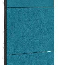 HELEN – MOBILE WALL 3.0 Artnovion Pied Mobile + 3 panneaux