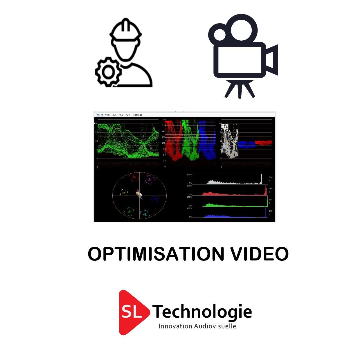 Optimisation de la captation Vidéo