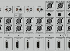 Compact II RAmi Console analogique de diffusion