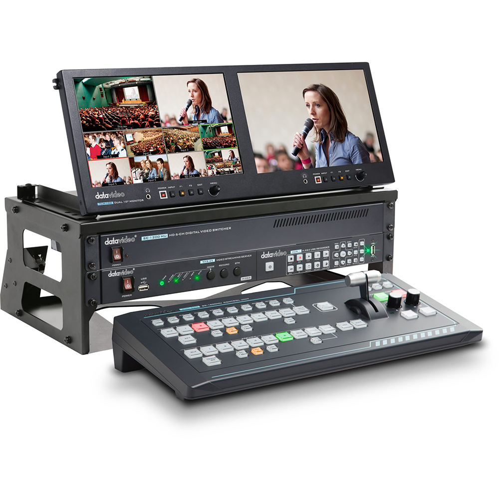6 Channel HD Portable Video Production Studio