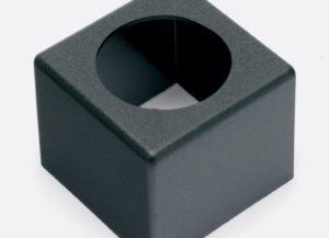 Badge/Flag micro carré noir vierge ou personnalisé