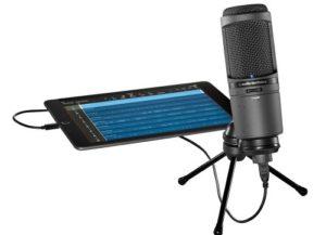 AT2020USBi Micro Audio-Technica USB pour smartphones