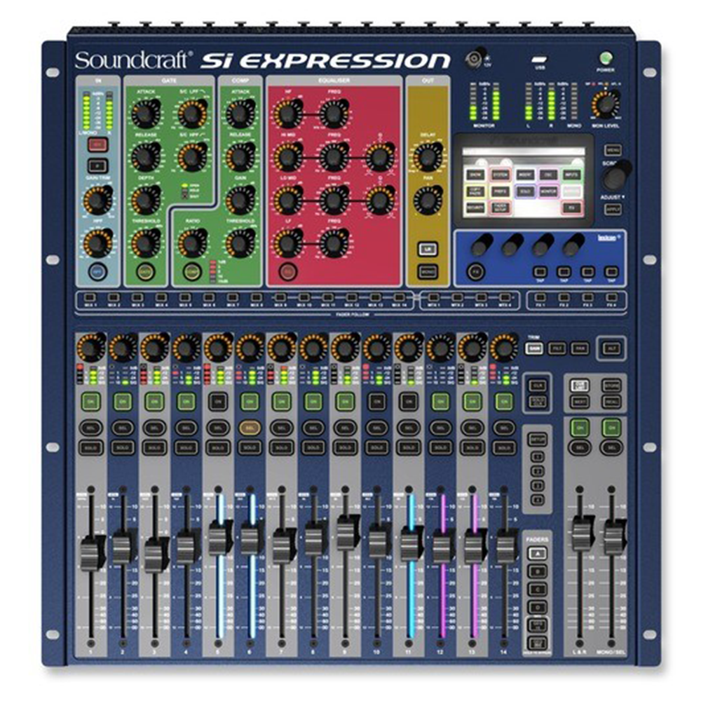 Console Soundcraft Si Expression1