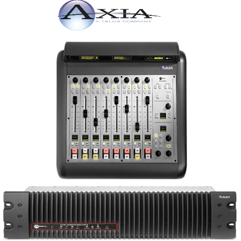 IQ Axia Configuration 8 Faders + Engine QR32