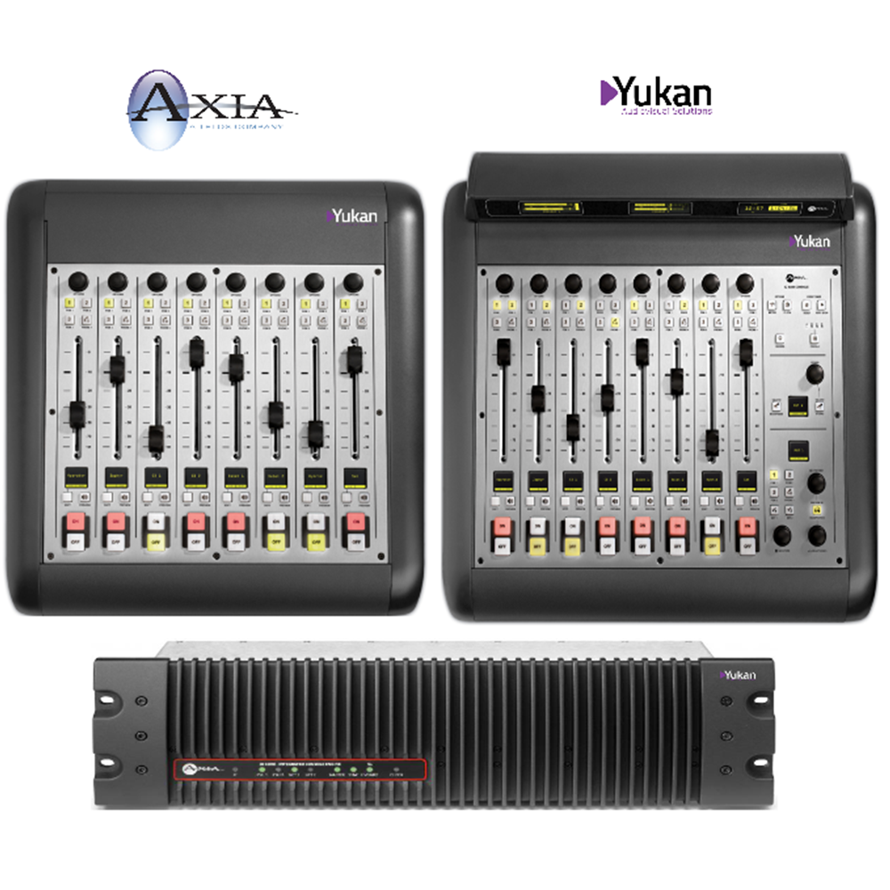 IQ Axia Configuration 16 Faders + Engine QR32