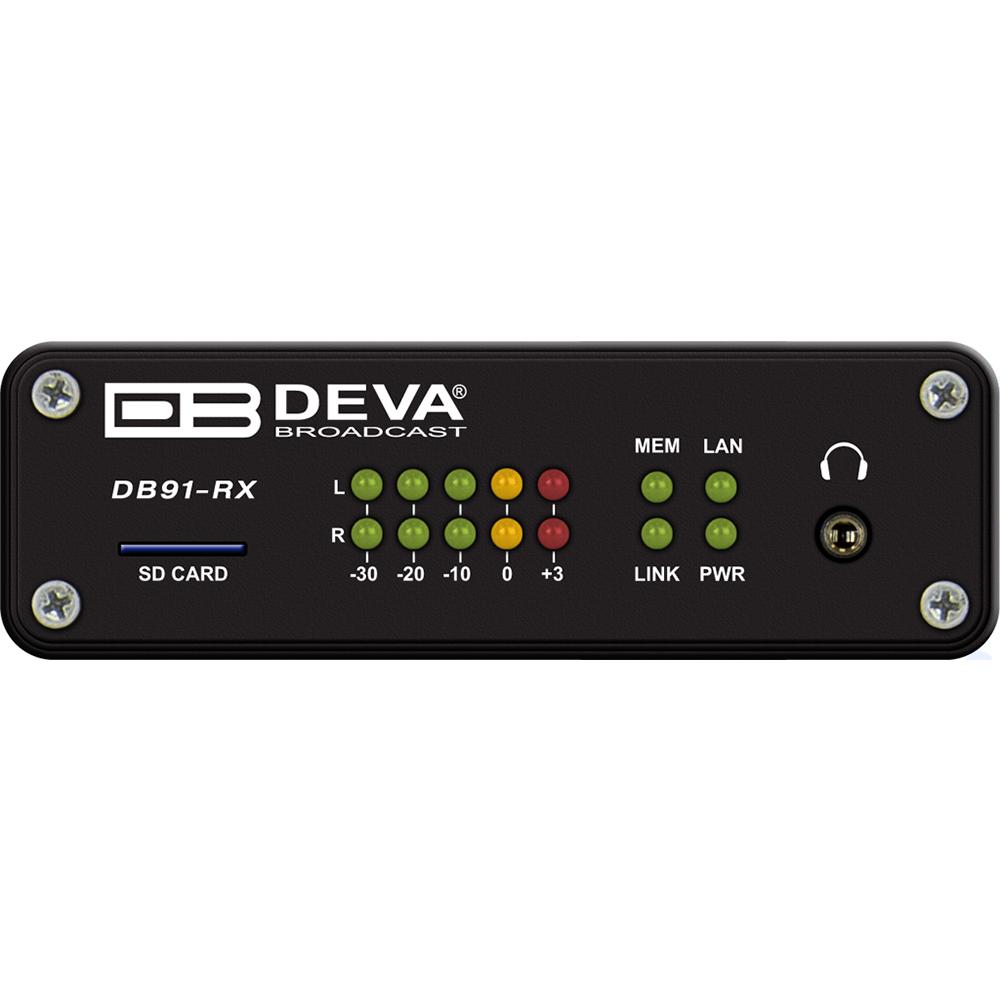 DB91-RX DEVA Décodeur audio réseau IP