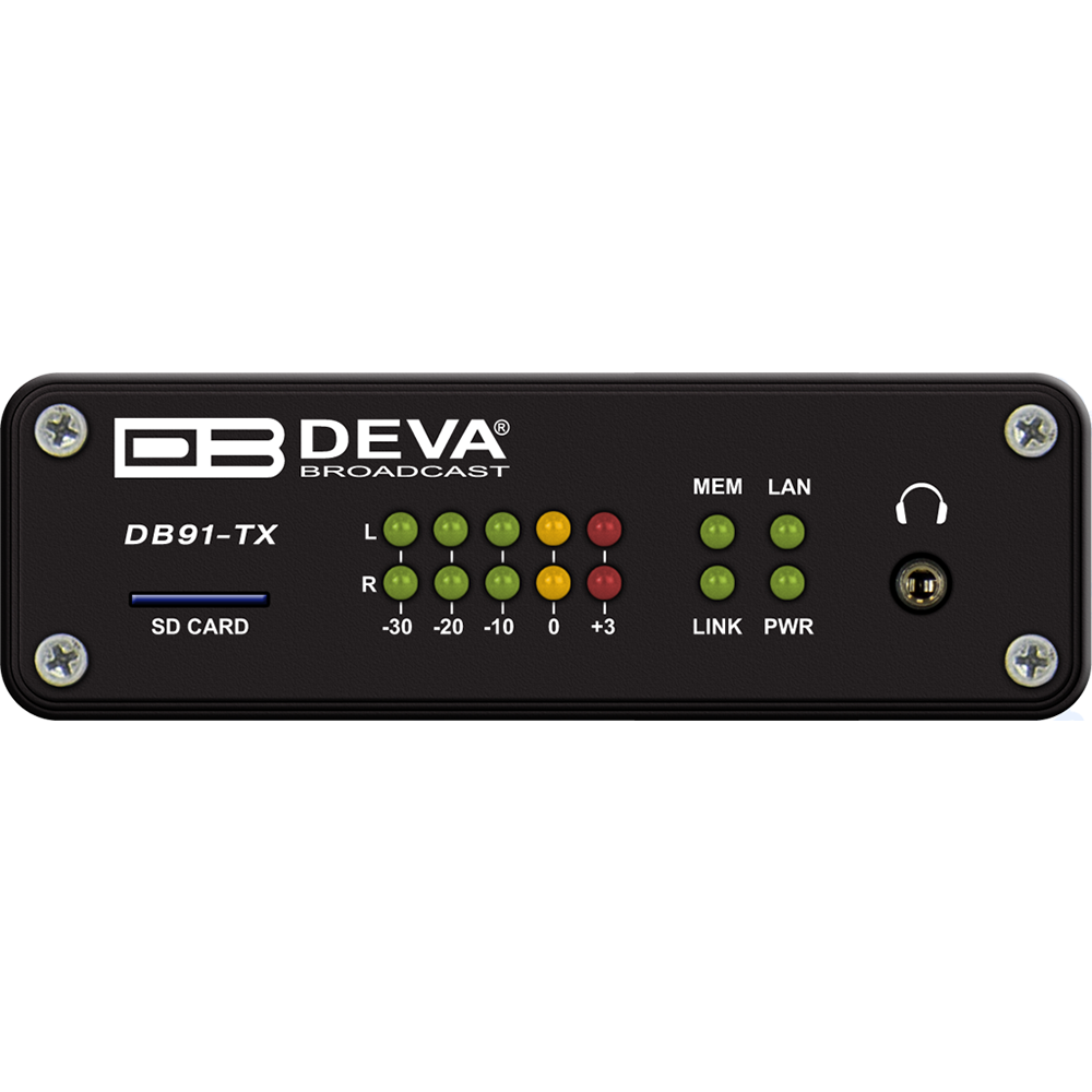DB91-TX DEVA Encodeur Audio IP
