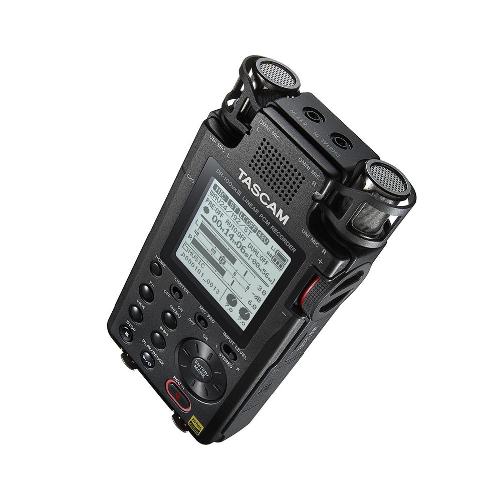 DR-100MKIII Tascam Enregistreur stéréo portable