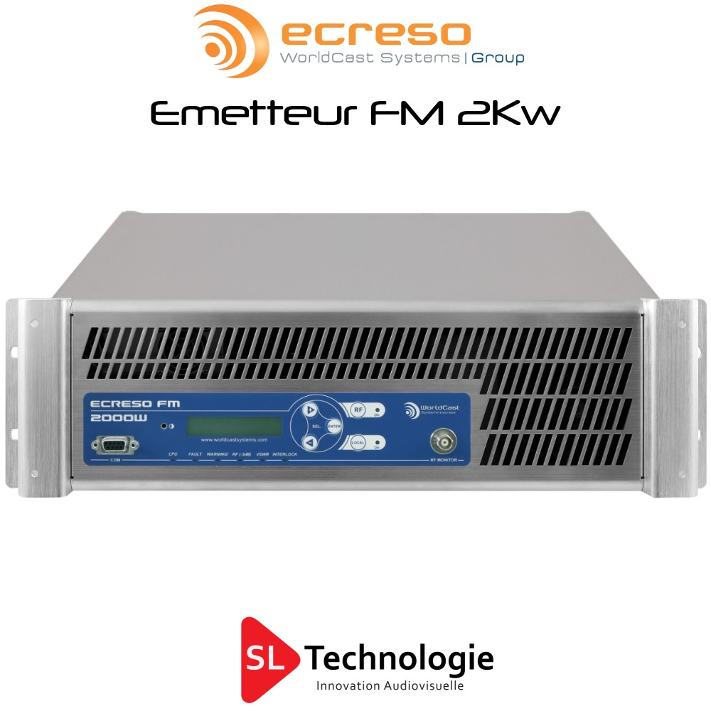 Emetteur FM 2000W ECRESO