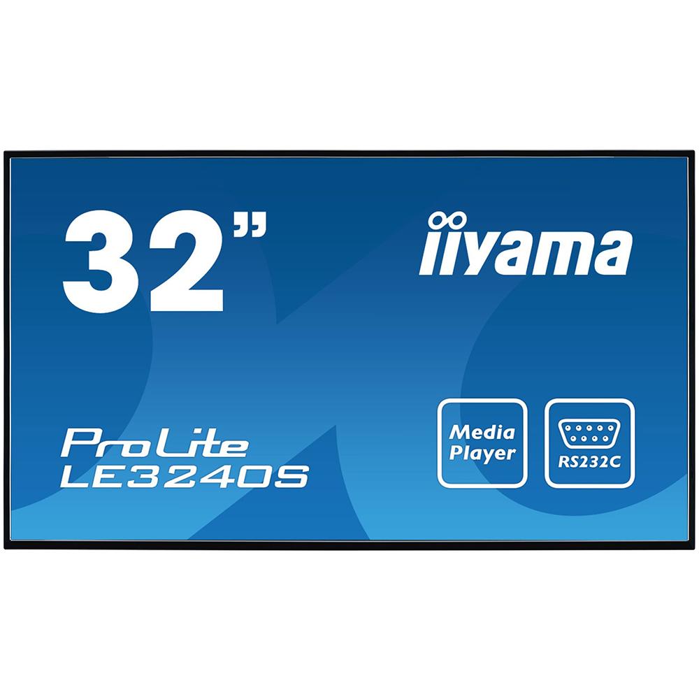 Ecran 32» LED IPS Full HD Prolite LE3240S-B1 iiyama