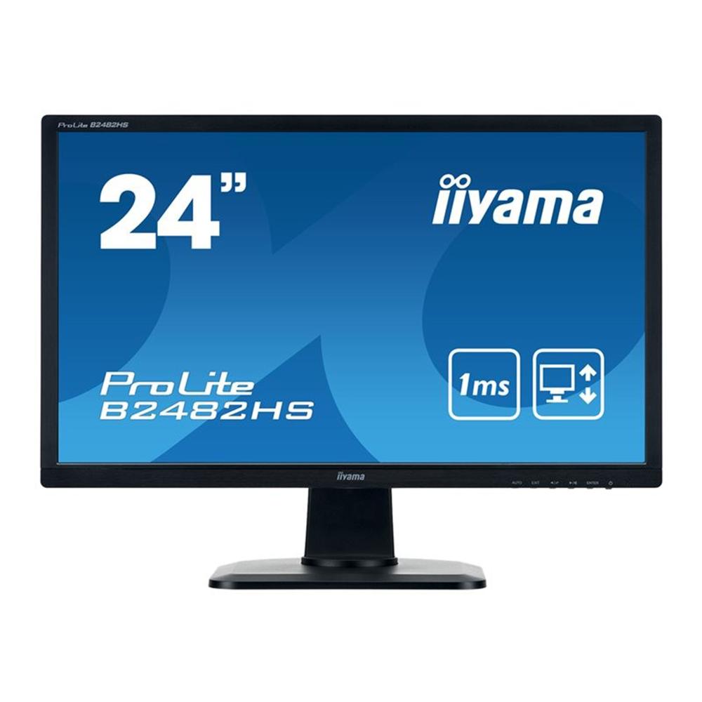 Ecran Led IPS 24» iiyama ProLite B2482HS-B1Full HD
