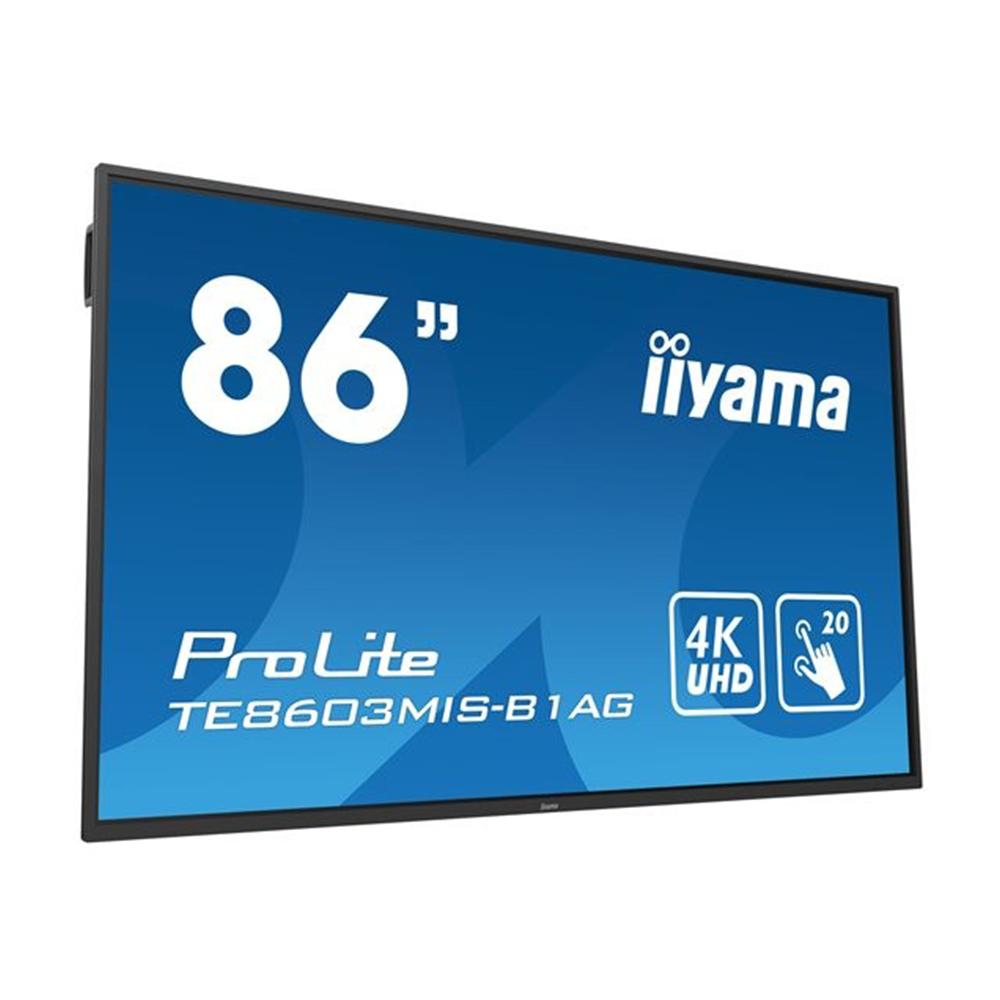 Ecran Led Interactive 4k iiyama ProLite TE8603MIS-B1AG
