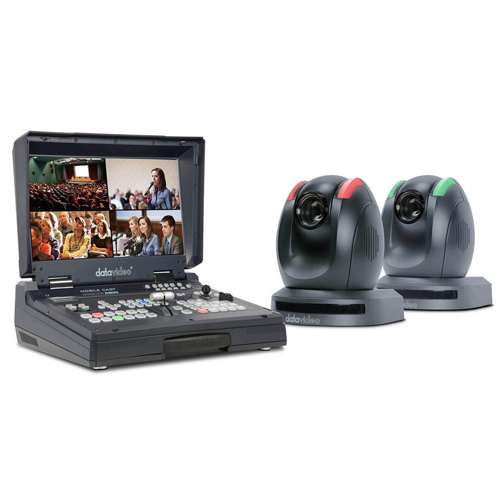 HS-1500T Datavideo Studio vidéo portable HDBaseT HD / SD à 4 canaux