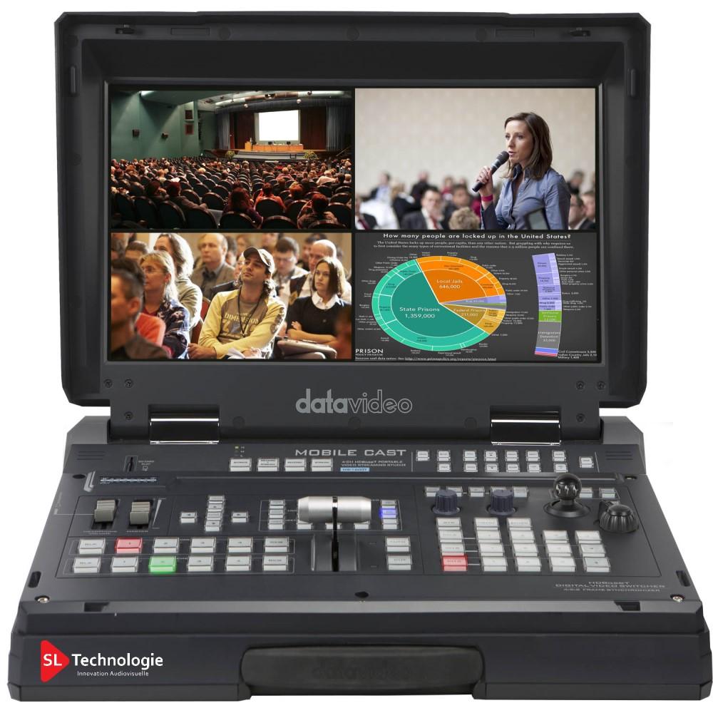 HS-1600T Datavideo Avec streaming vidéo