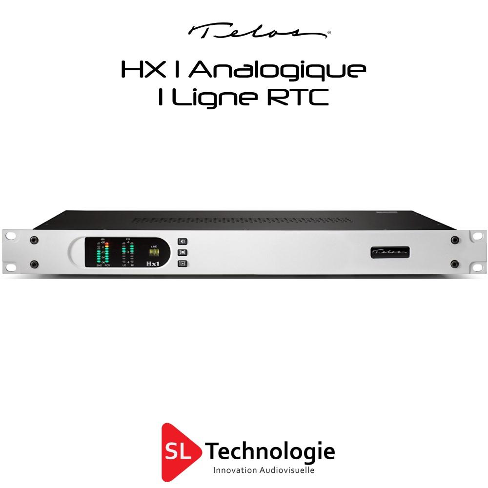 HX1 Telos System Insert Téléphonique RTC