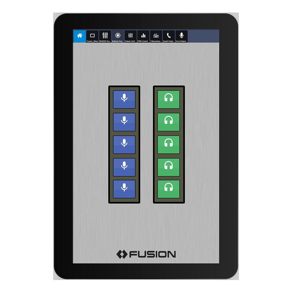 IP Tablet Pathfinder Application de radio virtuelle Axia
