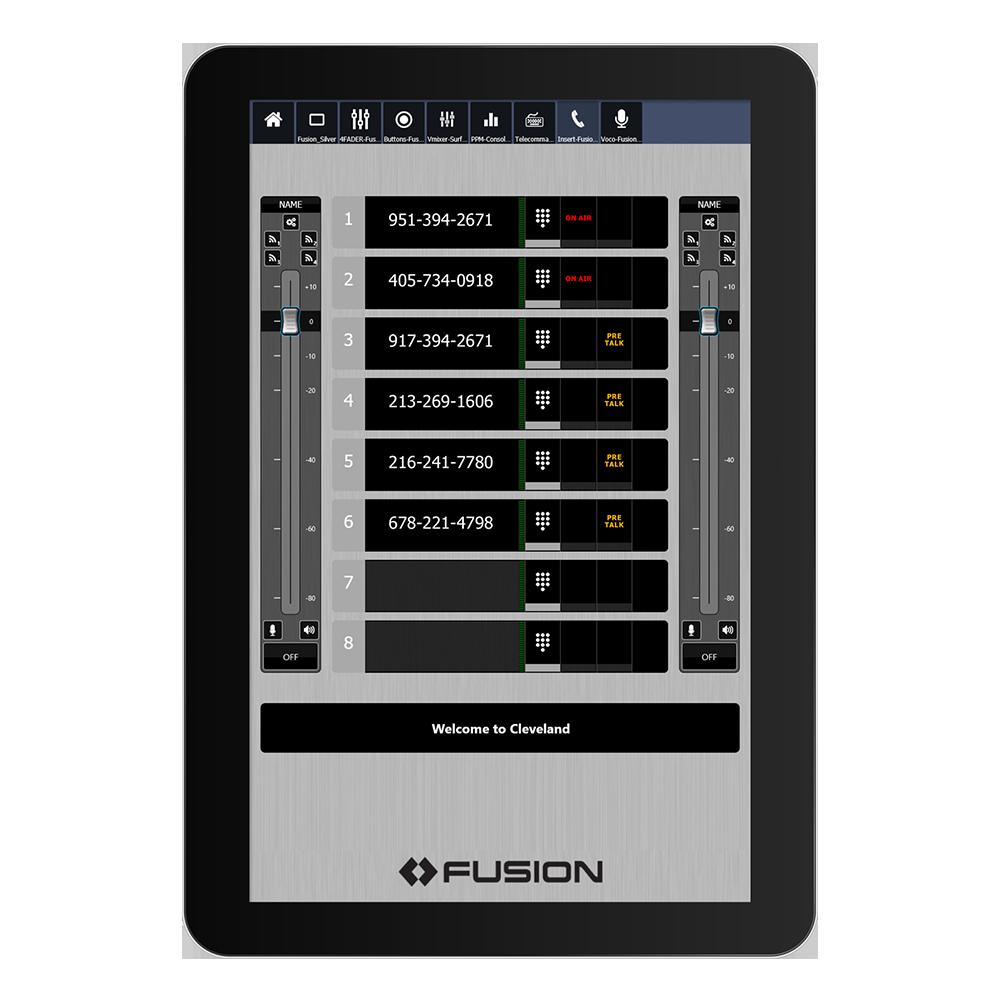 IP Tablet VX Prime Application de radio virtuelle Axia