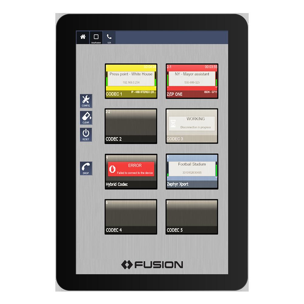 IP Tablet Z/IP One Application de radio virtuelle Axia