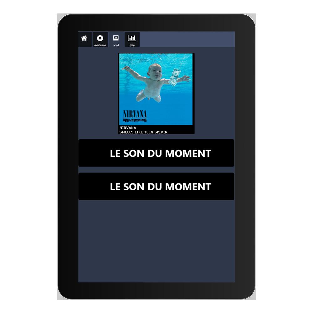 IP Tablet métadonnées Outils Application de radio virtuelle Axia