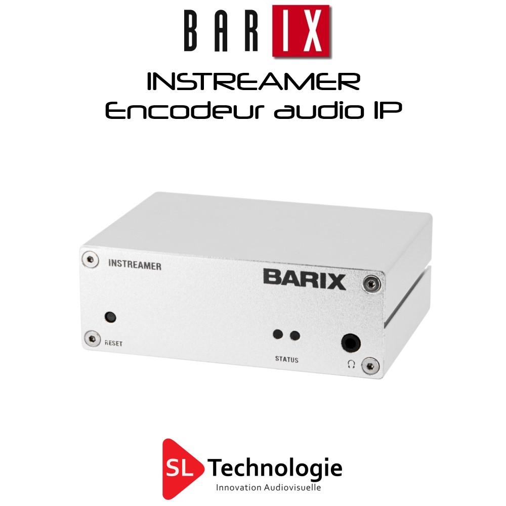 Instreamer BARIX Encodeur Audio IP