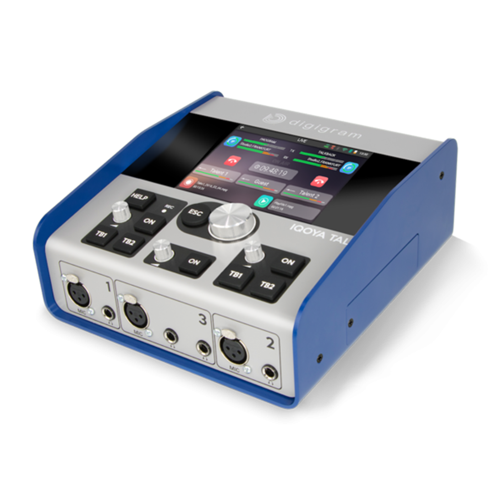 Iqoya Talk Digigram – Codec audio multi fonctions