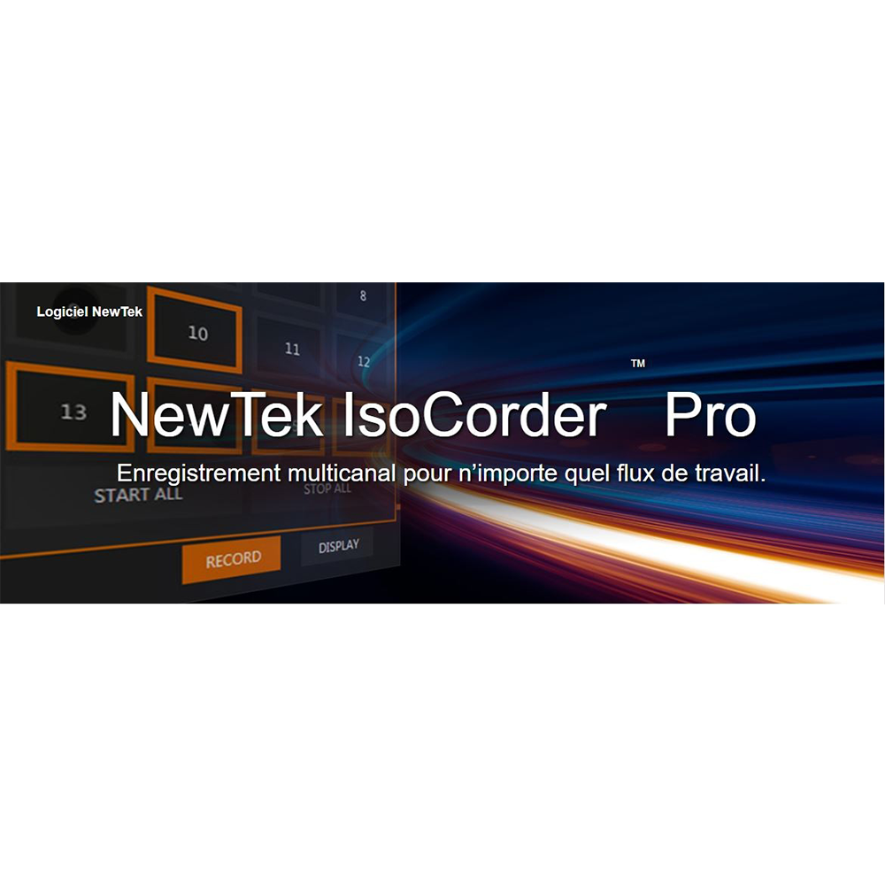 IsoCorder Pro NewTek
